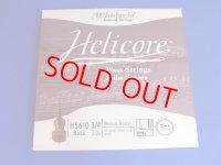 ダダリオ ヘリコア・ソロ・コントラバス弦3/4AEBF#セット Helicore Solo Bass String set