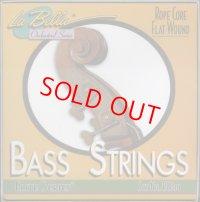 ラ・ベラ RC610 ロープコアバス弦3/4 GDAEセット La Bella SET NO RC610 Ropecore Bass String set 3/4size
