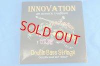 イノベーション社 ゴールデンスラップ・バス弦 EADG Innovation Golden Slap Bass String set