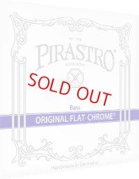 ピラストロ オリジナル・フラットクロム・コントラバス弦 GDAEセット Pirastro Original Flat-Chrome Bass String set