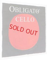 ピラストロ オブリガート・チェロ弦 ADGC弦セット Pirastro OBLIGATO Cello String
