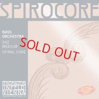 トマスティック スピロコア・コントラバス弦 GDAEセット Thomastik Sprirocore Bass String set