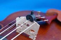 バイオリンミュート・トルテ シングル Violin mute Tourte Single hole