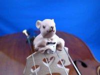 """マウストロ・チェロ用ミュート・トルテ """"Moustro"""" Cello Mute Tourte """"Moussy"""""""