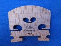 テラーバイオリン駒 4/4 Violin Bridge, Teller Violin Bridge Germany 4/4