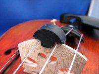 バイオリンミュート・トルテ Violin mute tourte double holes