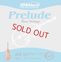 ダダリオ プレリュード・コントラバス弦 GDAEセット D'Addario Prelude Bass String 3/4set