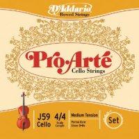 ダダリオ プロ・アルテ・チェロ弦 ADGC弦セット D'Addario Pro Arte Cello String