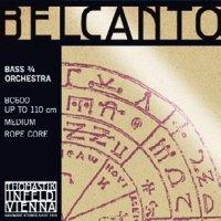 トマスティック ベルカント・オーケストラ・コントラバス弦 GDAEセット Thomastik Belcanto Orchestra Bass String set