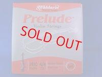 ダダリオ プレリュード・バイオリン弦 EADGセット D'Addario Prelude Vn String set, 4/4 size
