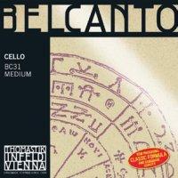 トマスティック ベルカント・チェロ弦 ADGC弦セット Thomastik BELCANTO Cello String