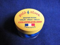 ミラン「ゴールド&シルバー」松脂/バイオリン・ビオラ・チェロ Millant Gold and Silver 2000 Rosin
