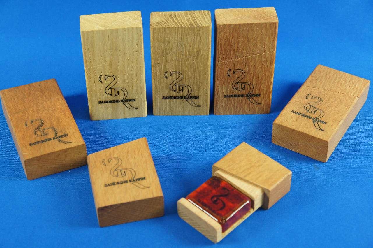 画像1: S.ラファン松脂/バイオリン・ビオラ・チェロ S.Raffin Rosin Woodenbox