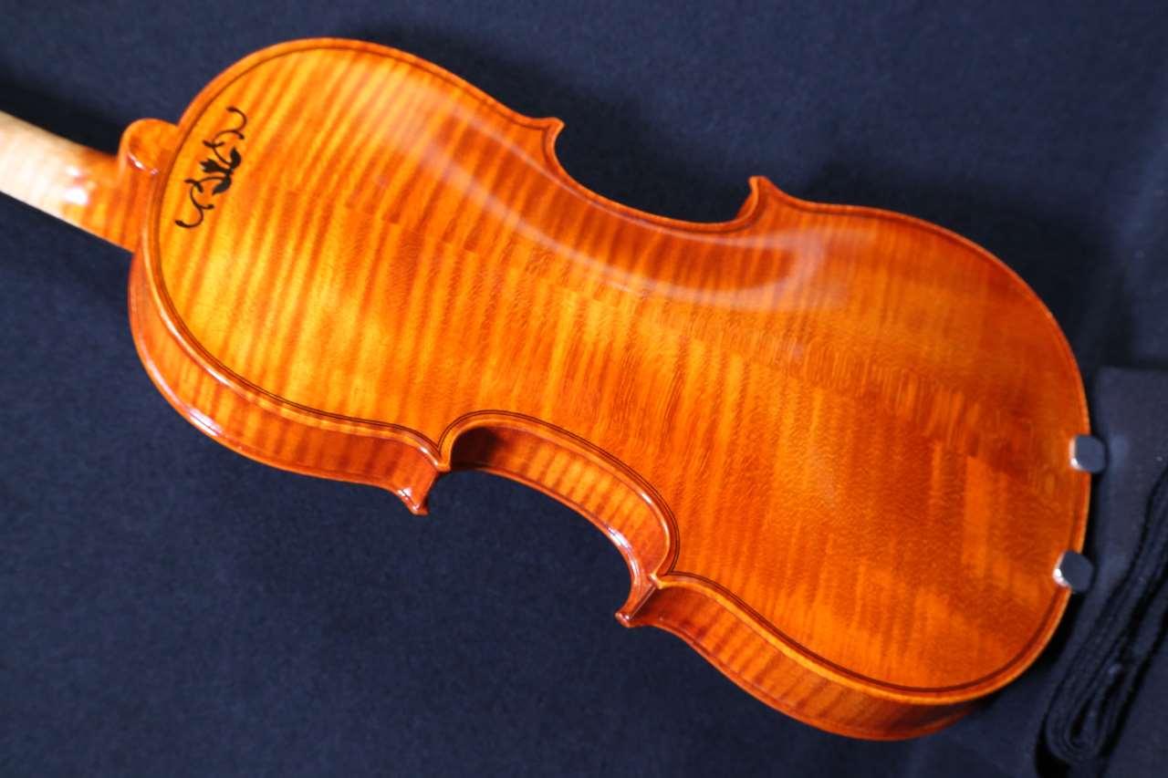 画像1: カローラヘンデル工房 ストラディバリモデルバイオリン ドイツ製  Carola Hendel violin Stradivari Model #202