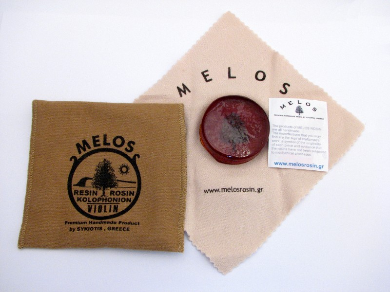 画像1: メロス・バイオリンダーク松脂 /バイオリン・ビオラ Melos Dark Normal Size Rosin