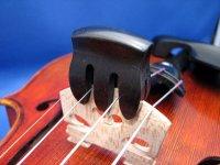 ビオラ ミュート黒檀(エボニー)製 Ebony viola mute