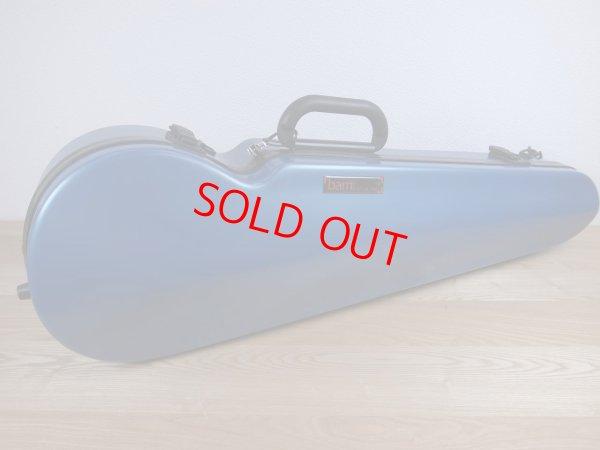 画像1: BAMハイテック・コンツアード・バイオリンケース(アズールブルー)1.5Kg(フォルメ) BAM Hitech Contoured violin case 2002XLB / AZURE BLUE