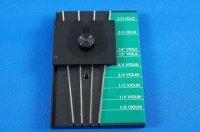 ブリッジメーカー チェロ・ビオラ・バイオリン用 Bridge Maker VcVaVn