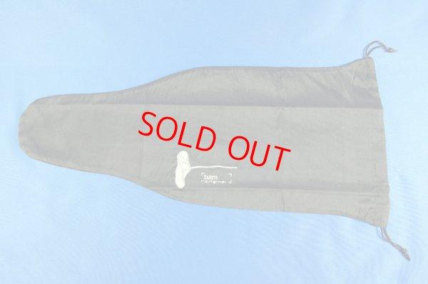 画像1: BAMバイオリンシルクバッグ Single layer silk bag with lace