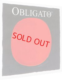 ピラストロ オブリガート・バイオリン弦 4弦set orADG3弦setE線ゴールド/スチール Pirastro OBLIGATO Vn Gold/Steel E