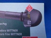 プラネタリーギア内蔵バイオリンペグ・ウィットナー「ファインチューン」 Wittner 「Finetune」 Planetary Gear Equiped Violin Peg