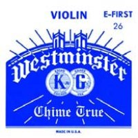 ウェストミンスター・スチールE線・バイオリン弦 0.26-0.75 Westminster E-string 0.26&0.275