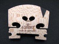 オーベルト(テラー)エボニーインサート駒4/4,3/4,1/2 Violin Bridge, Aubert(Teller), Ebony E Insert, 4/4,3/4,1/2