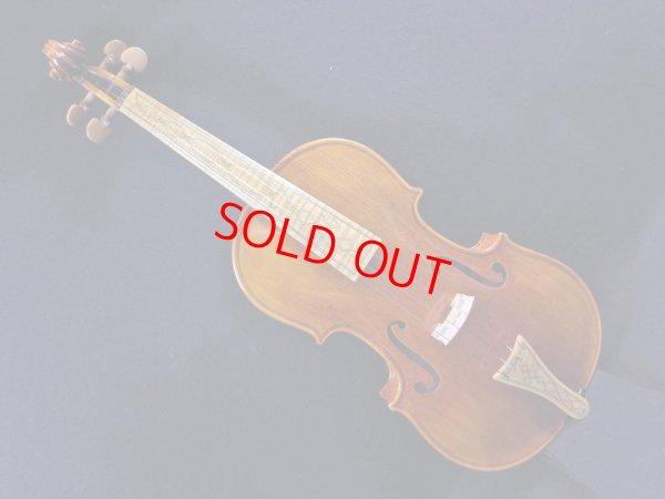画像1: LiuXi工房ファインレベル・バロックバイオリン・メープル指板
