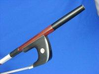 Yin Guohua弓工房 アフリカンブラックウッド・コントラバス弓 ジャーマン・ビッグアイ