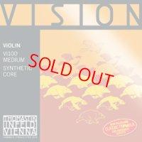 トマスティック ビジョンバイオリン弦GDAE4弦セット Thomastik Vision Violin 4/4,7/8set