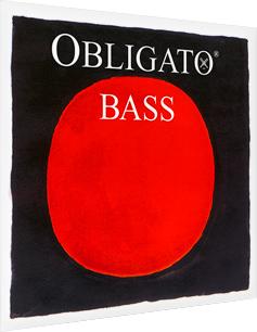 画像1: ピラストロ オブリガート・コントラバス弦 GDAEセット Pirastro Obligato Bass String set