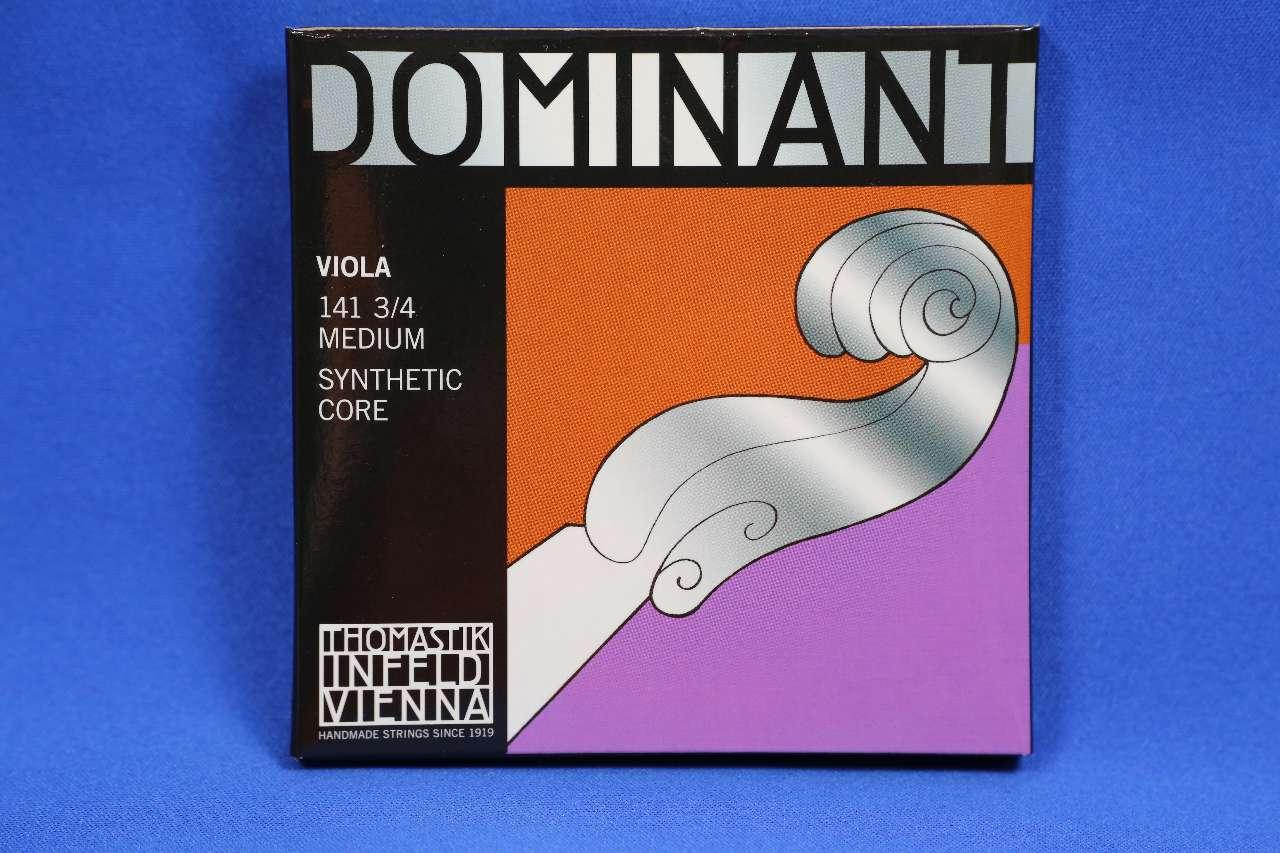 画像1: トマスティック ドミナント・分数ビオラ弦ADGCセット3/4(14')、1/2(13') TOHMASTIK Dominant Fractional Viola