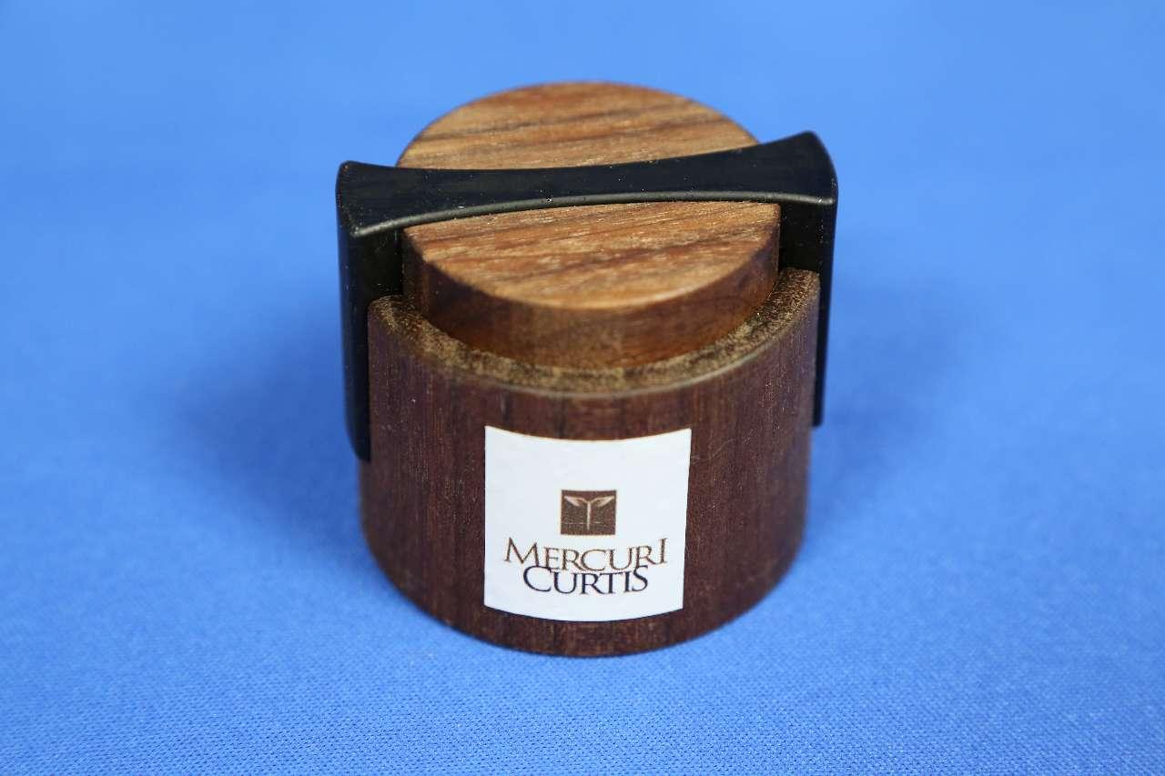 画像1: マーキュリー・カーチス松脂ローズウッド/バイオリン・ビオラ・チェロ Mercuri Curtis Rosin Rosewood Box
