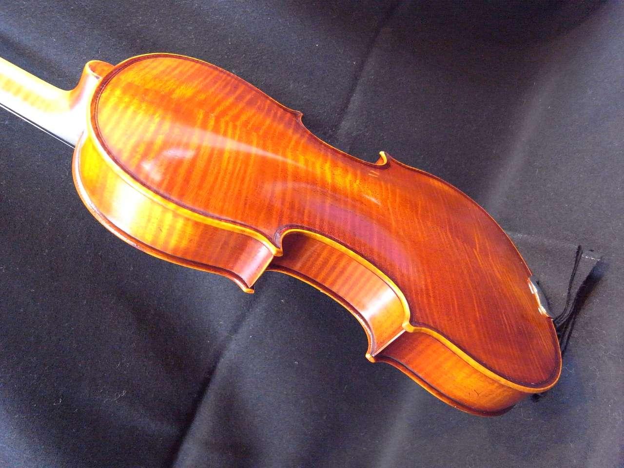 画像1: カローラヘンデル工房 ストラドモデルバイオリン ドイツ製  Carola Hendel violin Stradivari Model #201a