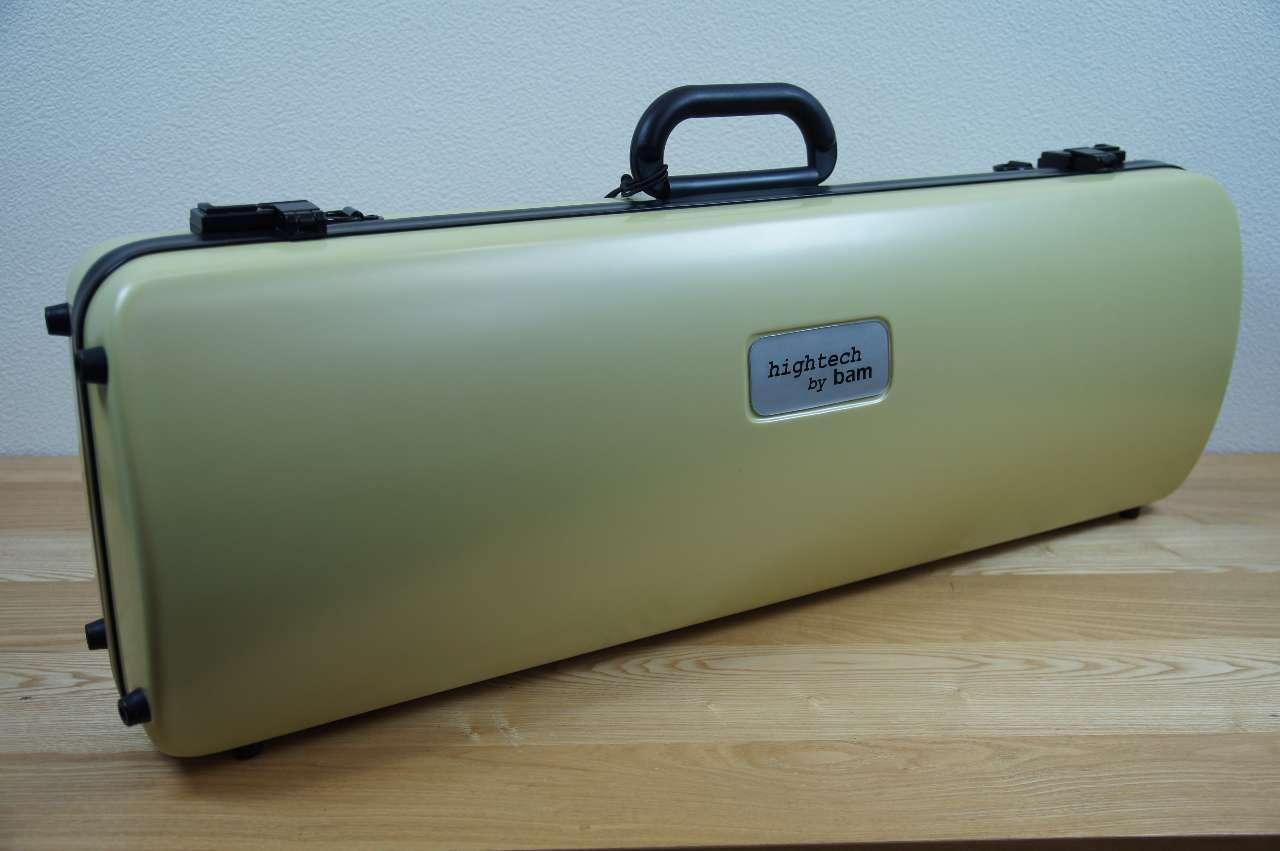 画像1: BAMハイテック・バイオリンケース(アニス)1.8Kg BAM Hightech violin case 2001XLA (ANISE)