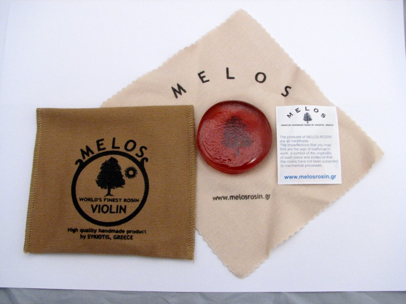 画像1: メロス・バイオリンライト松脂/バイオリン・ビオラ Melos Light Normal Size Rosin