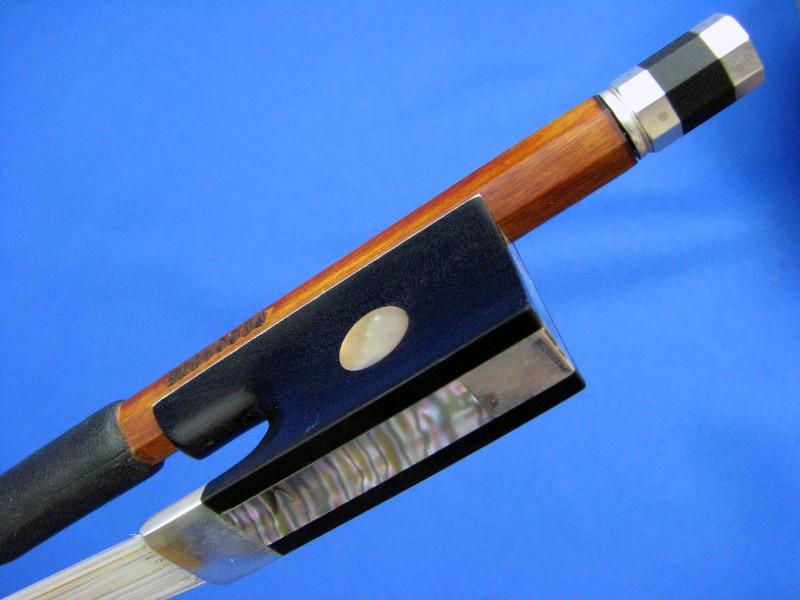 画像1: Yin Guohua弓工房 トップレベル・ペルナンブーコ・ペカットモデル・バイオリン弓