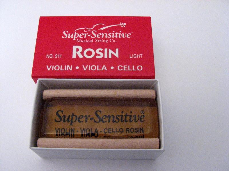 画像1: スーパーセンシティブ911ライト松脂 Super Sensitive Rosin No.911 Light