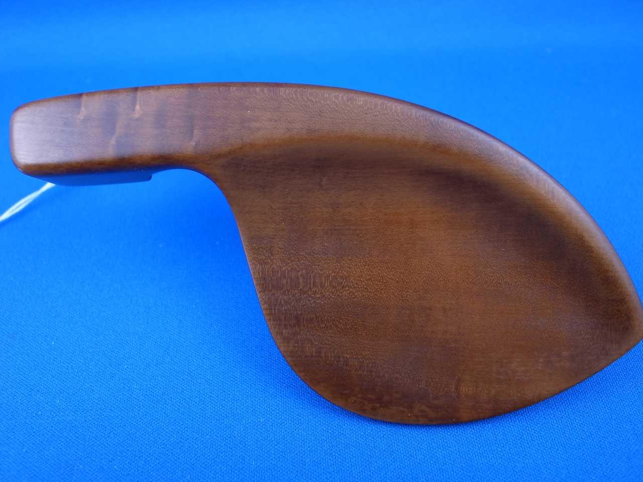 画像1: アレキサンダー・アクセサリーズ バイオリンアゴ当て ツゲ(Boxwood)材 ガルネリ・銀メッキ モデル Alexander Accessories Guarnerius Chinrest Nickel Silver