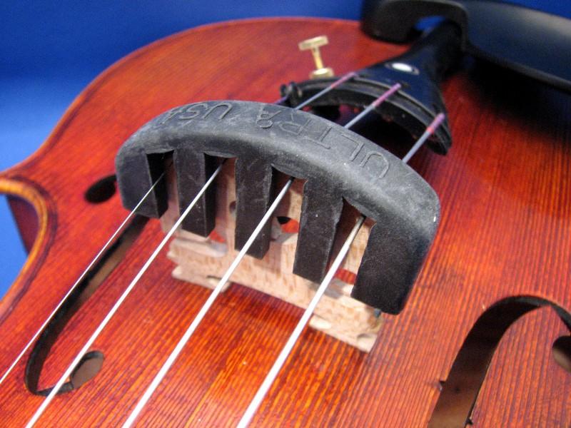 画像1: バイオリンミュート ウルトラ Violin Mute Ultra