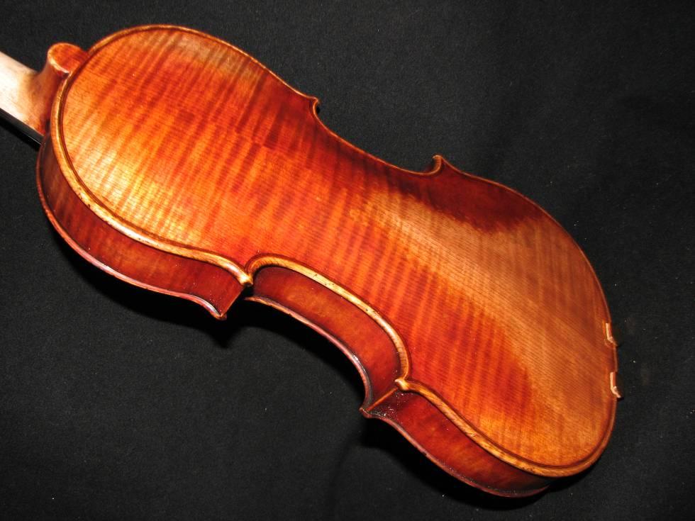 画像1: Ma Zhibin工房 マスターメイド・バイオリン オールドフィニッシュストラディバリ コピー