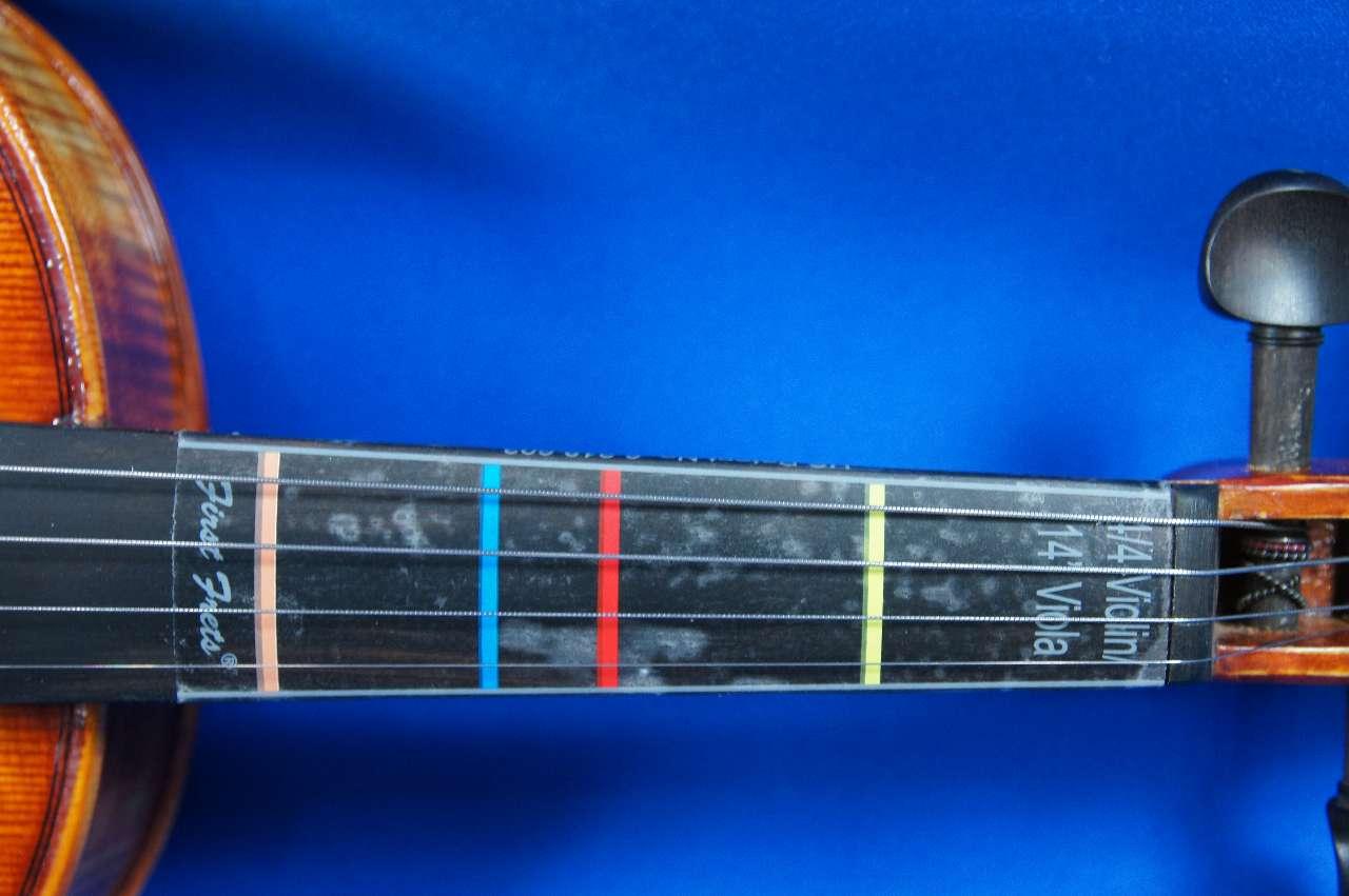 画像1: 指板ポジションマークシール4/4-1/16バイオリン Fingerboard Position Seal