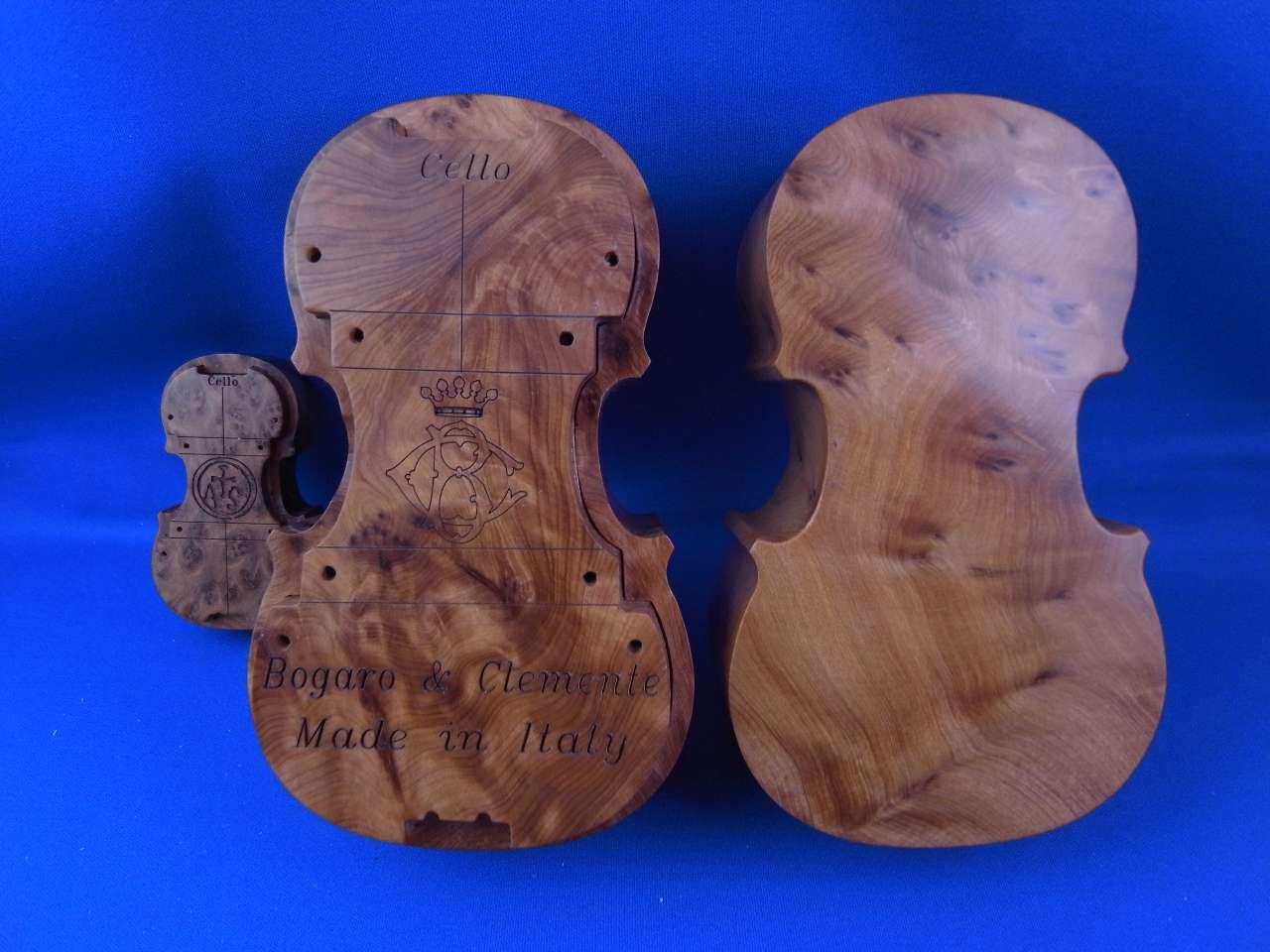 画像1: ボガーロ&クレメンテ・超巨大ストラド松脂/チェロ B&C Big Box Rosin Cello