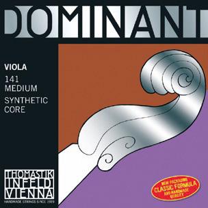 画像1: トマスティック ドミナント・ビオラ弦ADGCセット フルサイズ・ロング・エキストラロング TOHMASTIK Dominant Viola