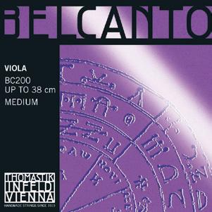 画像1: トマスティック ベルカント・ビオラ弦ADGCセット TOHMASTIK Belcanto Viola