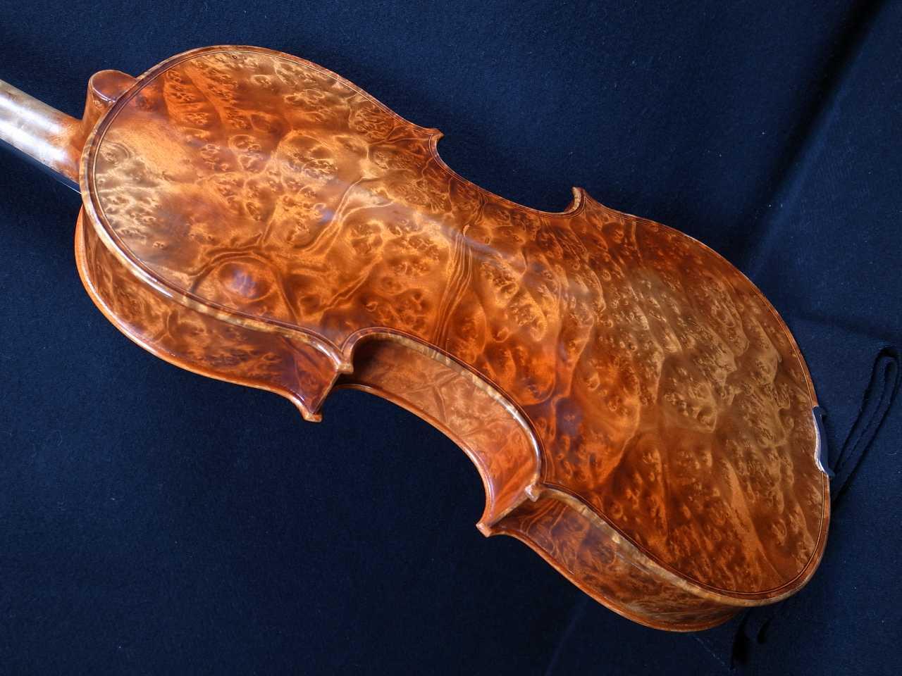 画像1: Ma Zhibin工房バーズアイビオラ・16インチビオラ MaZhibin Workshop Birdseye Viola 16inch