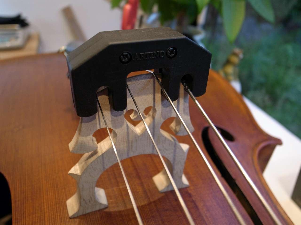 画像1: アルティノ・ゴムメタルチェロ用ミュート ARTINO Practice Mute APM-02